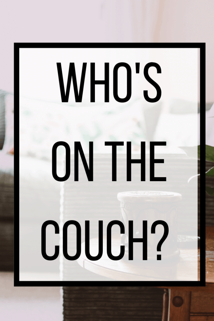 Who's on the couch? Questions about God's glory