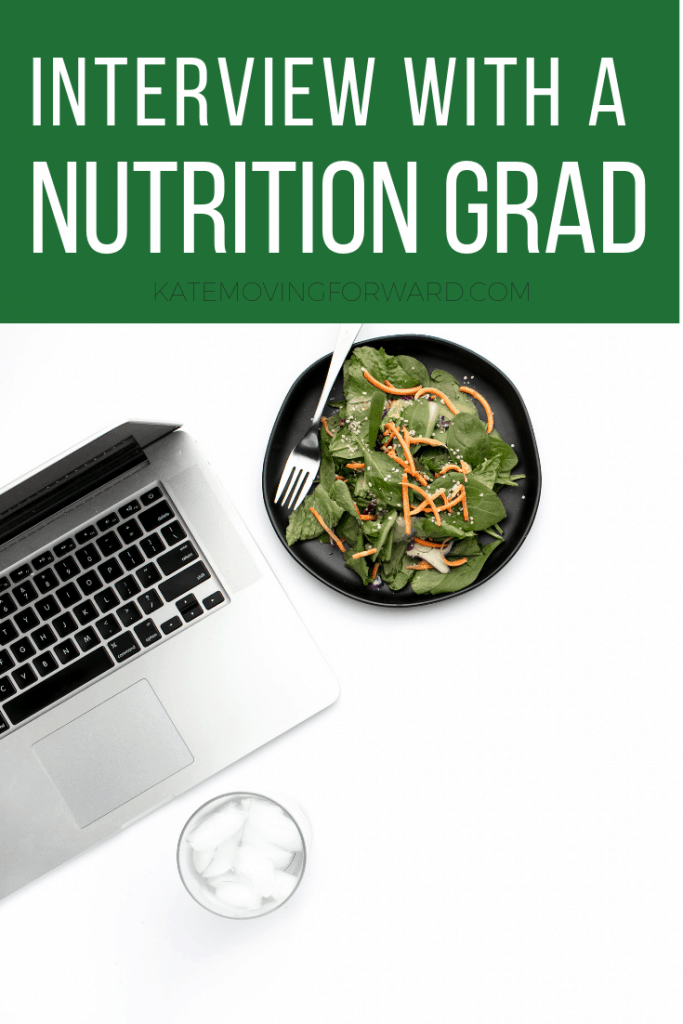 Interview with a nutrition grad