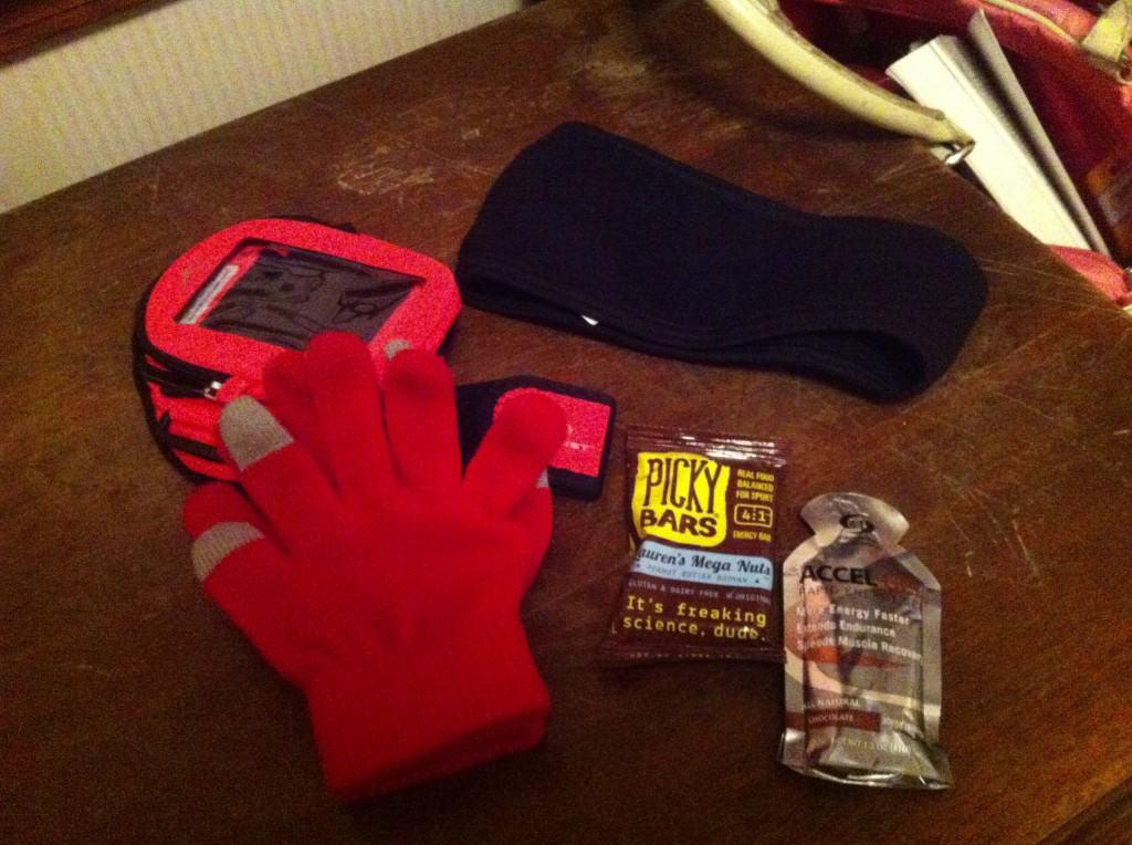 getting ready for running a half marathon