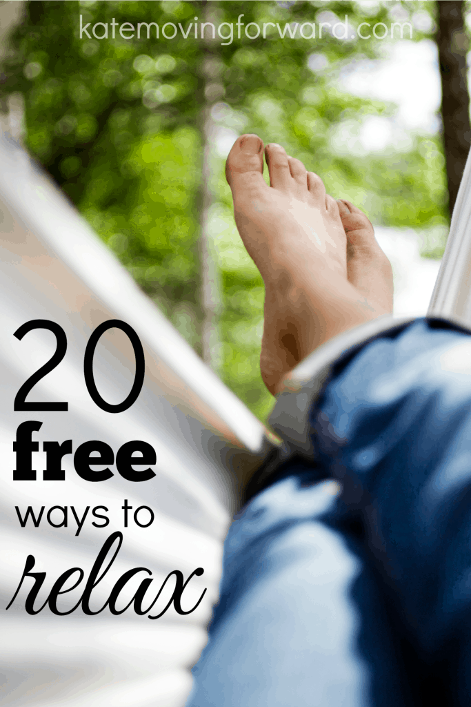 20 free ways to relax