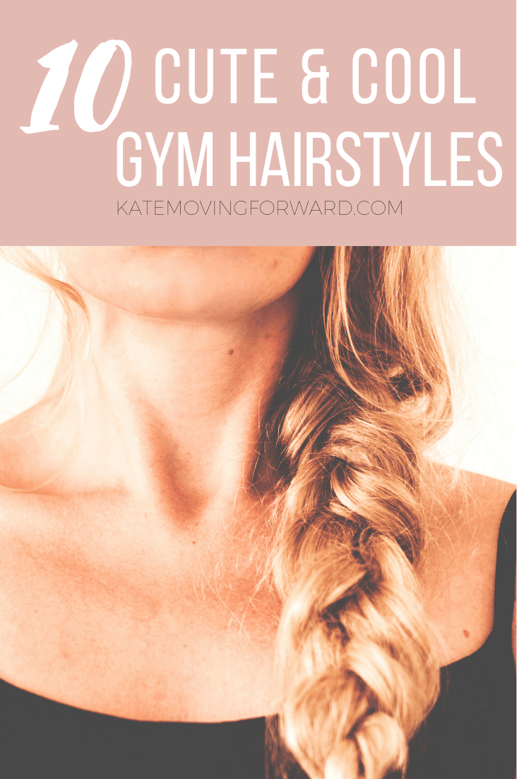 easy gym hairstyles