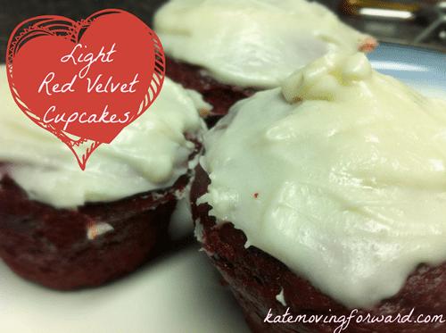 light red velvet cupcakes