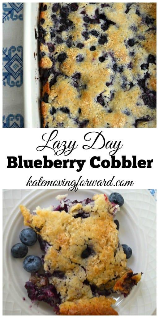 Lazy Day Blueberry Cobbler Recipe
