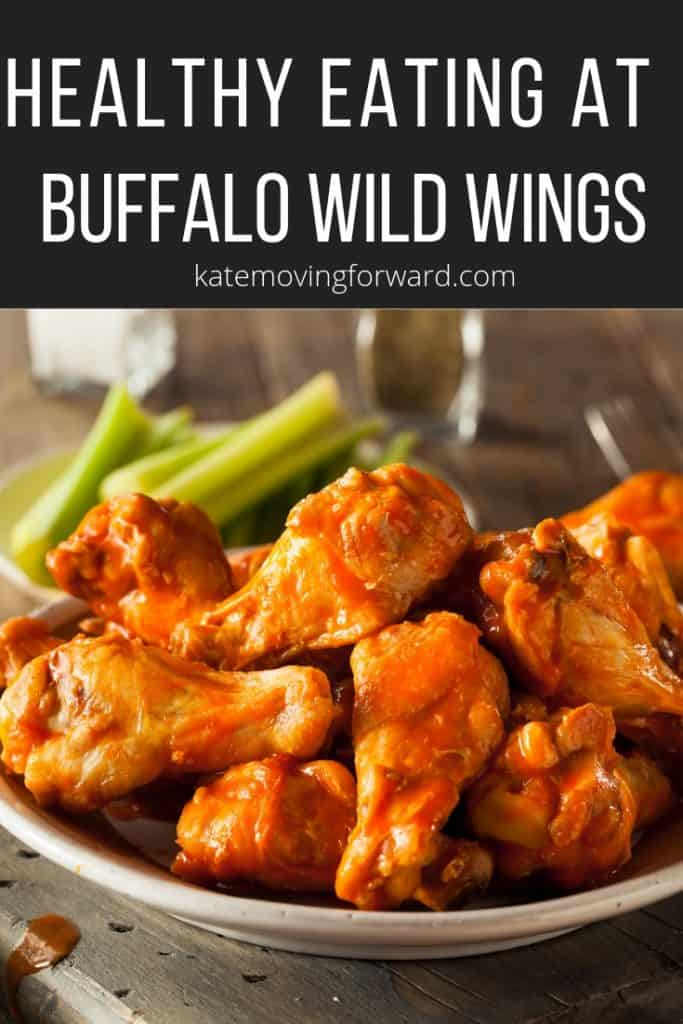 Healthy Eating at Buffalo Wild Wings with these tips and meal ideas!