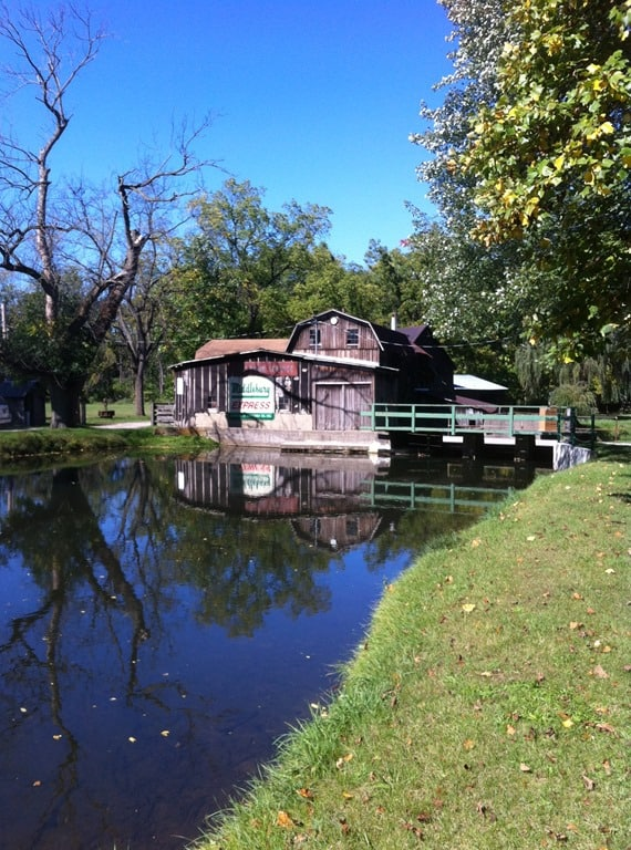 Miller's Mill in Middlebury Indiana