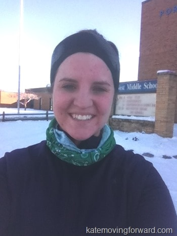 working out in the cold