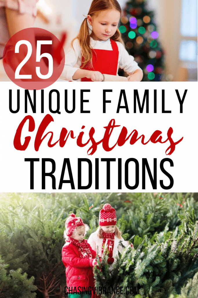 25 unique family Christmas traditions