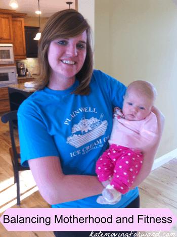 balancing motherhood and fitness