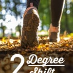 A 2 Degree Shift for Your Health