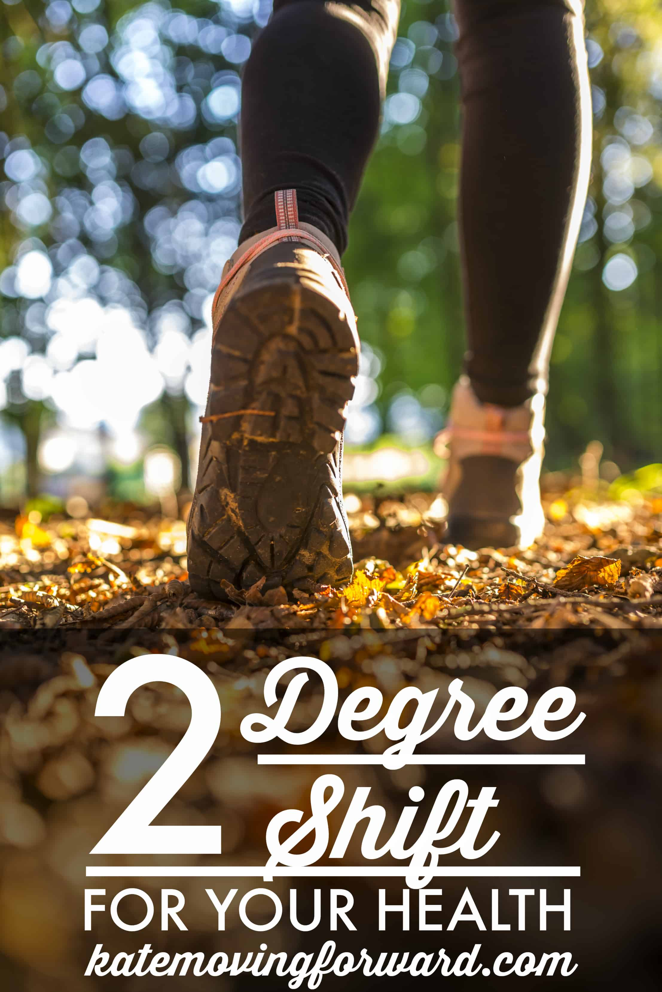 2 degree shift for your health