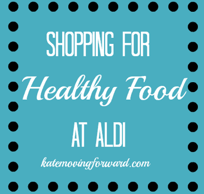 shopping for healthy food at aldi
