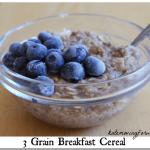 3 Grain Breakfast Cereal