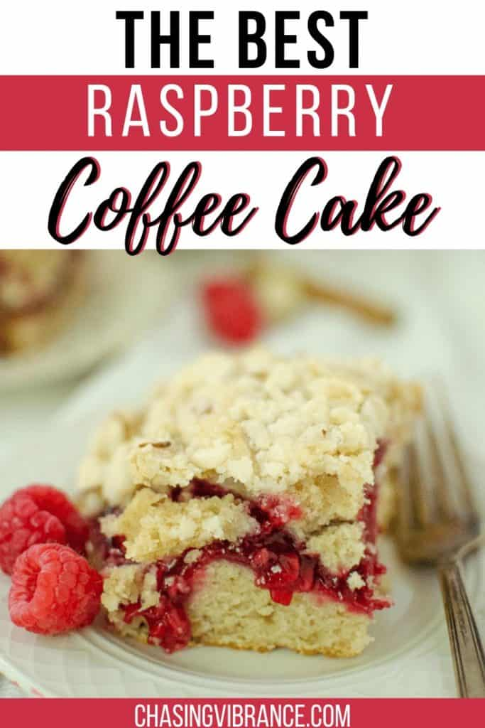 Raspberry Coffee Cake the best - pin for pinterest