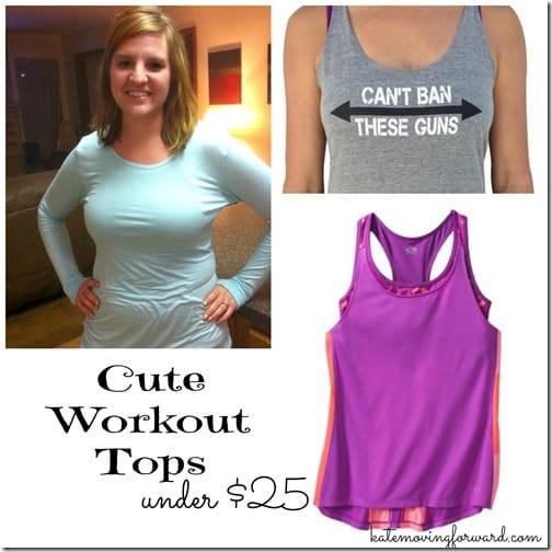Cute Workout Tops under $25