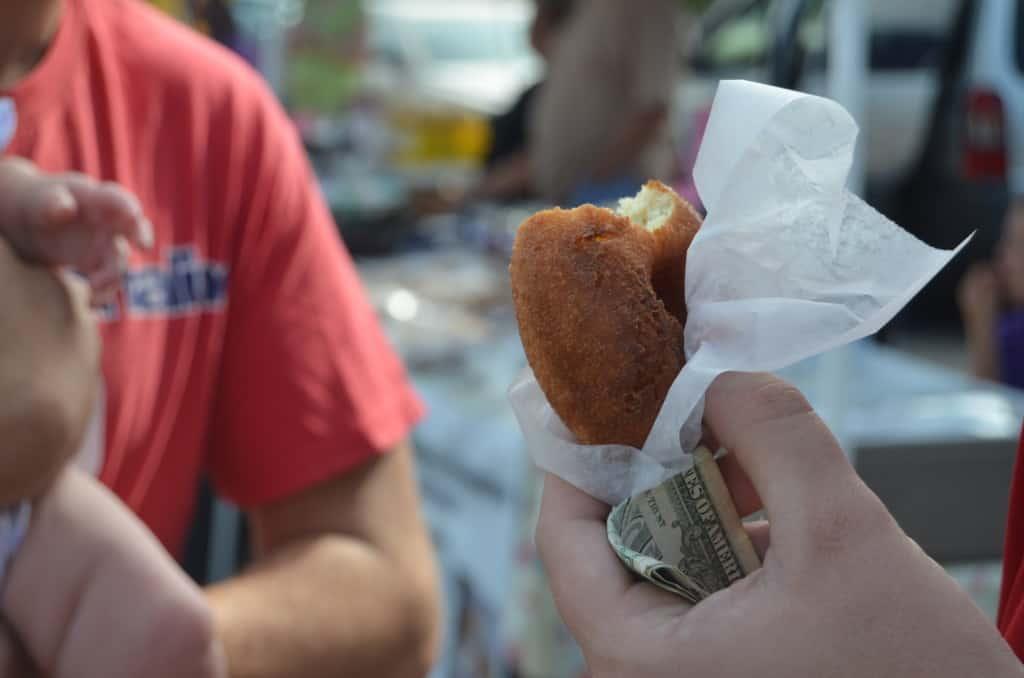 Farmers' Market doughnut