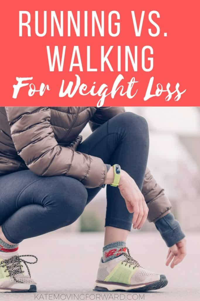 Running vs Walking for weight loss