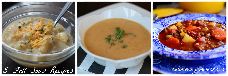 5 Fall Soup Recipes