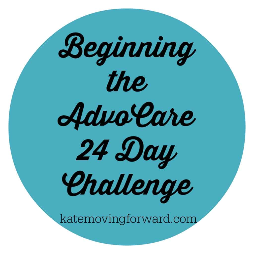 Beginning the AdvoCare 24 Day Challenge