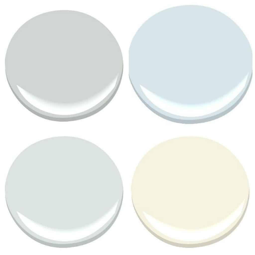 Cool neutral paint color scheme