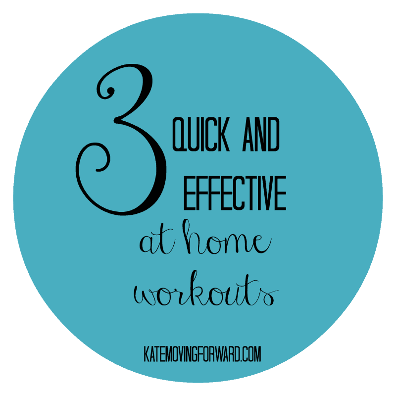 3 Quick and Effective at Home Workouts