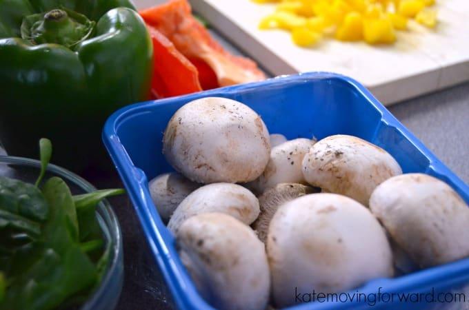 Fresh veggies make yummy food!