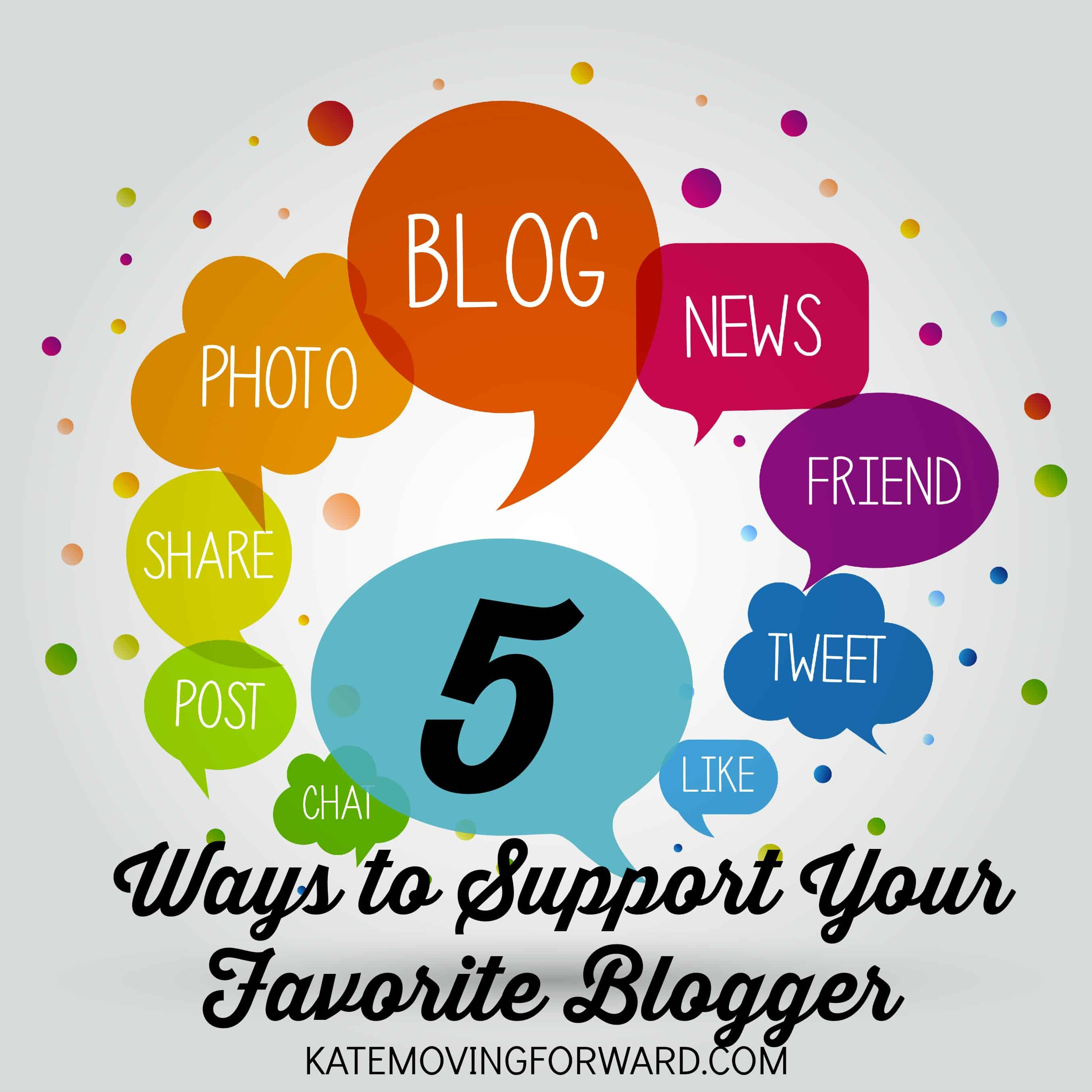 5 ways to support your favorite blogger