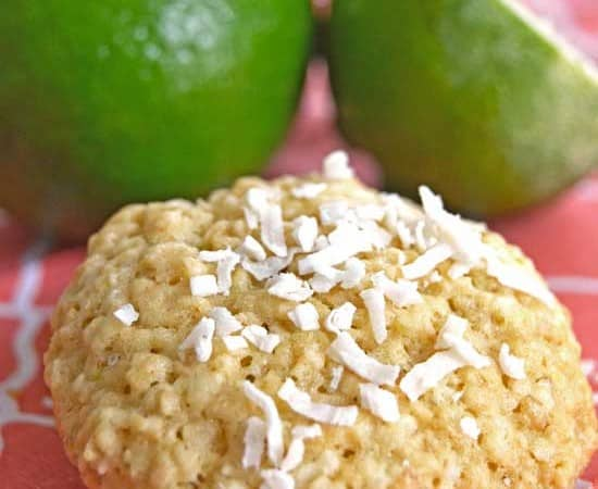 Coconut-Lime-Oatmeal-Cookie