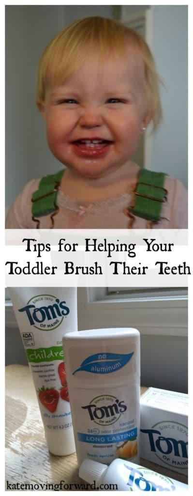 Tips for toddler teeth brushing
