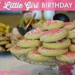 Easy Little Girl Birthday Party