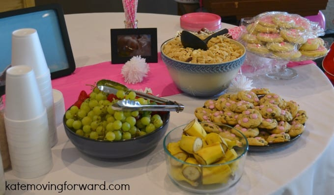 food for little girl party