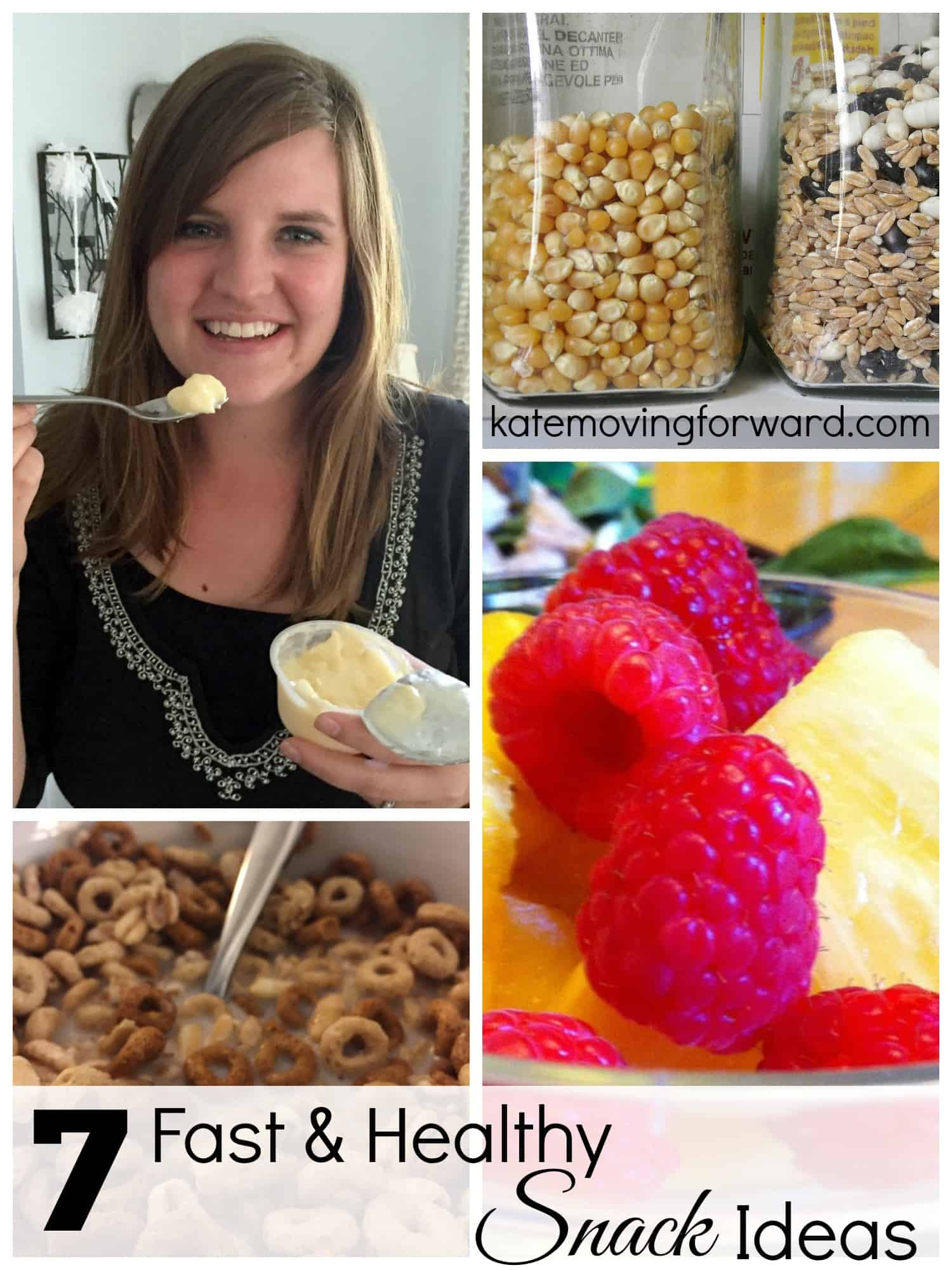 7 Fast & Healthy Snack Ideas