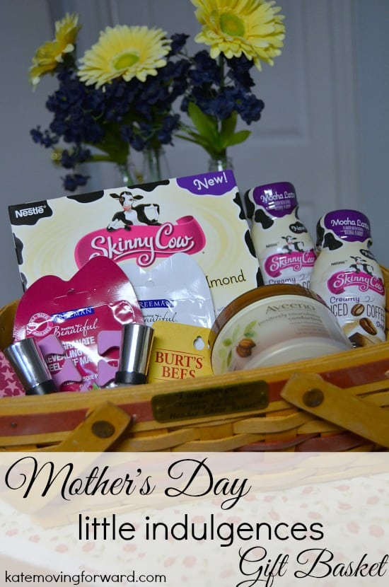 Mother's Day little indulgences gift basket
