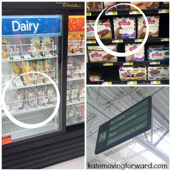 find skinny cow products at walmart