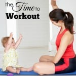 How to Find the Time to Workout