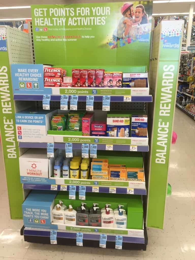 walgreens healthy essentials