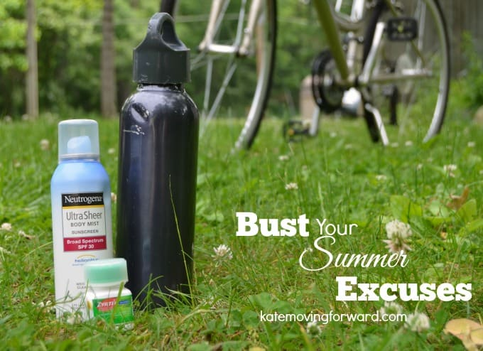 Tips to bust your summer excuses to live healthy