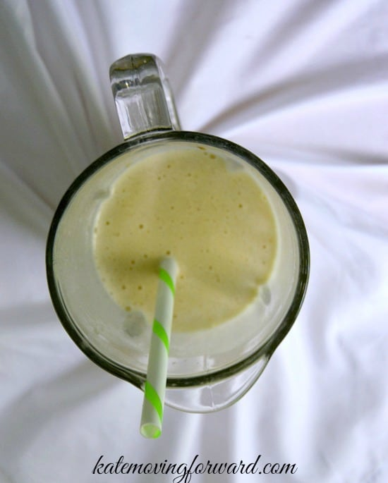 banana peanut butter smoothie2