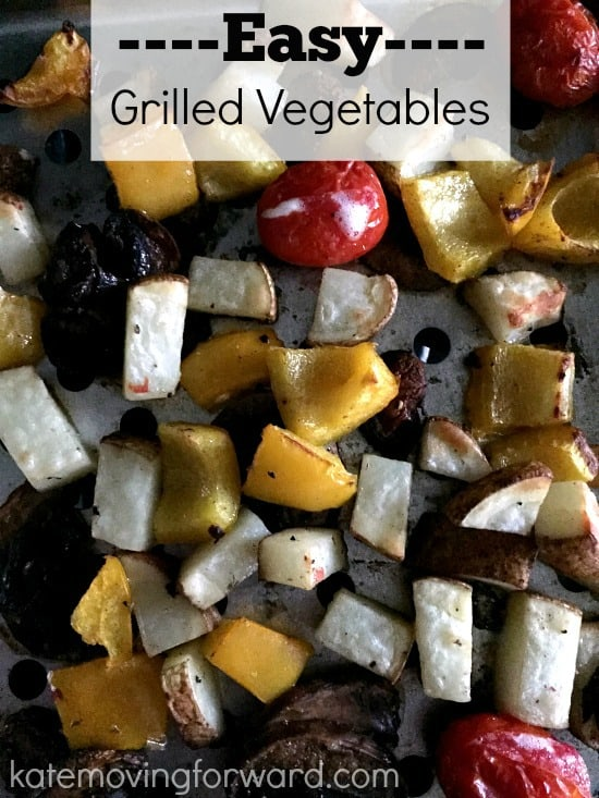 easy grilled vegetables--healthy and quick side!