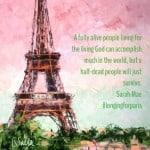 Living Wide Awake: Longing for Paris Book Review