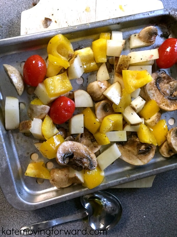 simple recipe for grilled vegetables