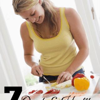 7 quick & healthy dinner ideas