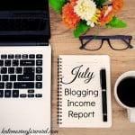 July Blogging Income Report