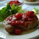 Raspberry Balsamic Pork Chops