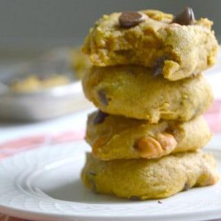 Pumpkin Chip Cookies--so good