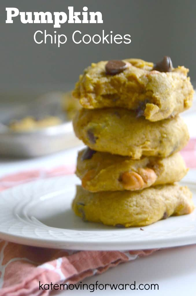 Pumpkin Chocolate Chip Cookies--so good