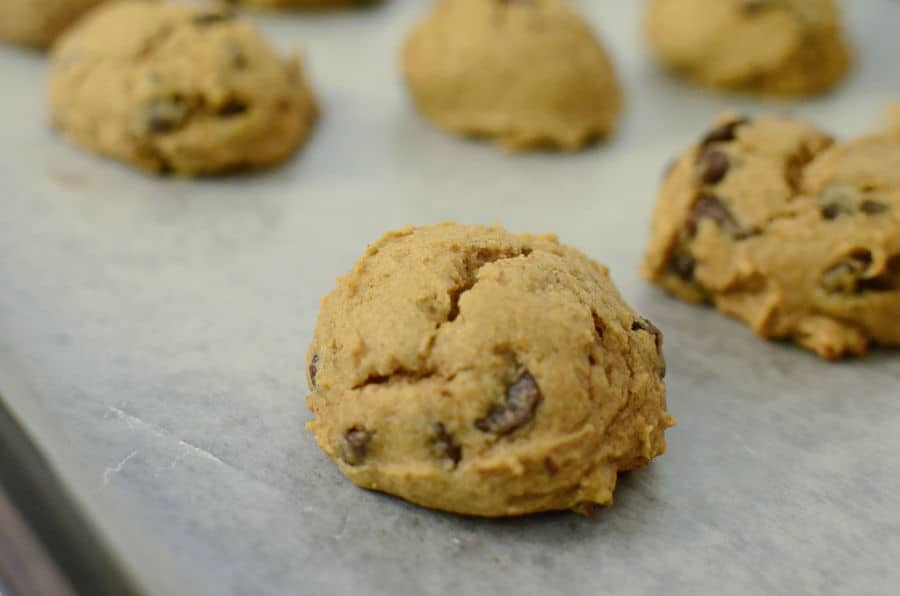 Pumpkin Cookies Chocolate chip