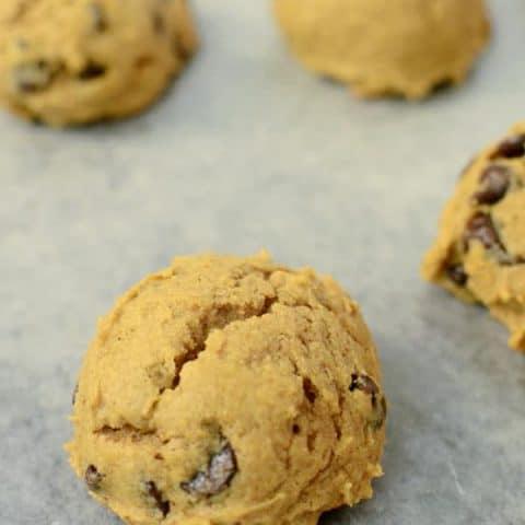 Pumpkin Fall Cookies