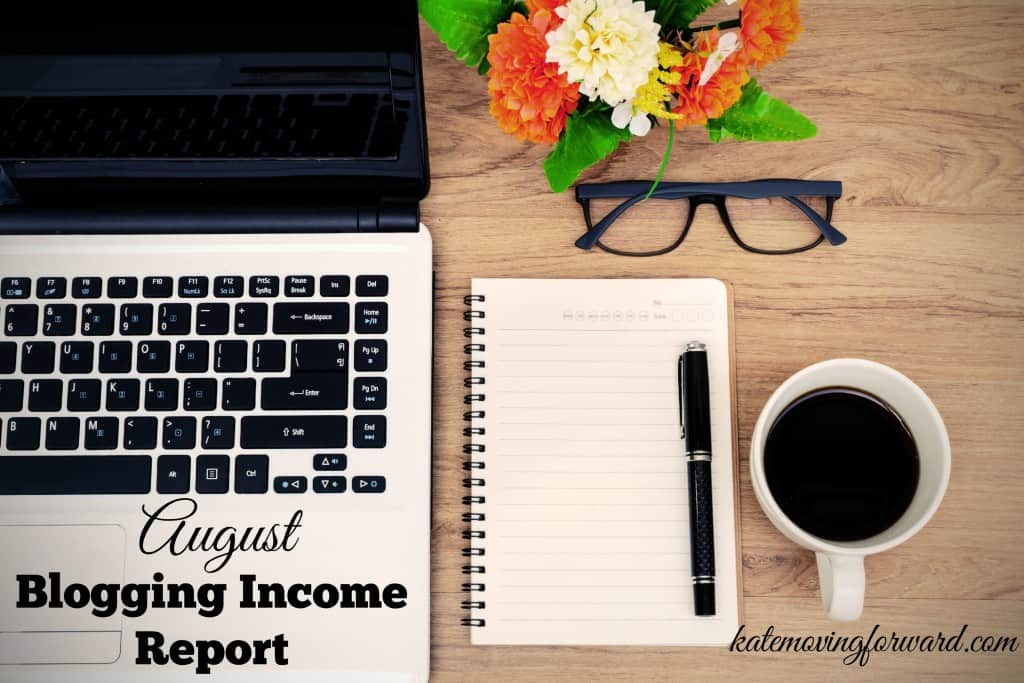 august blogging income report