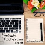 September Blogging Income Report