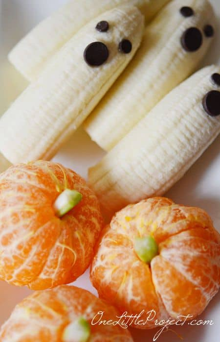 clementines and bananas